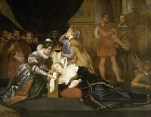 Execution of Mary Queen of Scots, by Abel de Pujol Alexandre-Denis, Musée de Valenciennes, 19th c.
